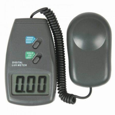 Digital Lux Meter (วัดค่าแสง), Digital Lux